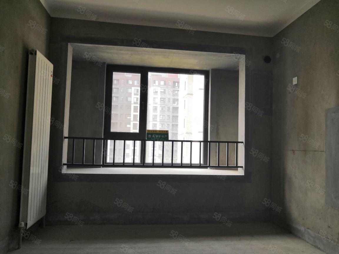 急售永威南樾97平毛坯现房,好楼层南北通透近地铁