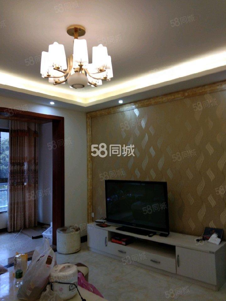 河东中铁尙城精装电梯三房空调三个家具家电齐全拎包即住