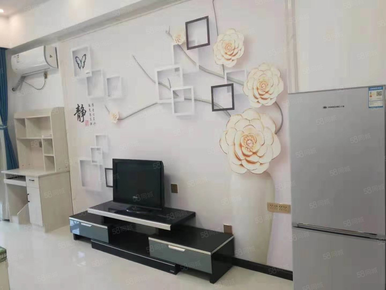 出租香格里拉公寓1室精装修全家具家电拎包入住