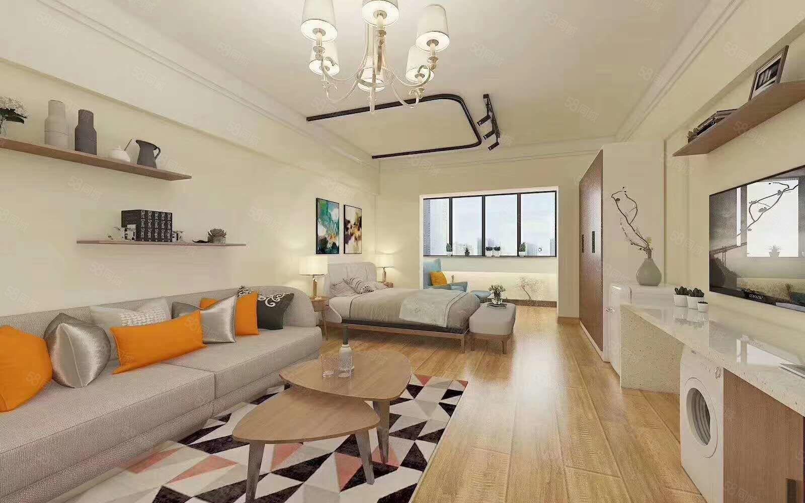 所剩不多,先到先得!万达广场部分工程抵款公寓43平32万起售