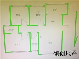 远大龙湖尚城多层电梯一梯两户南北通透户型现房出售