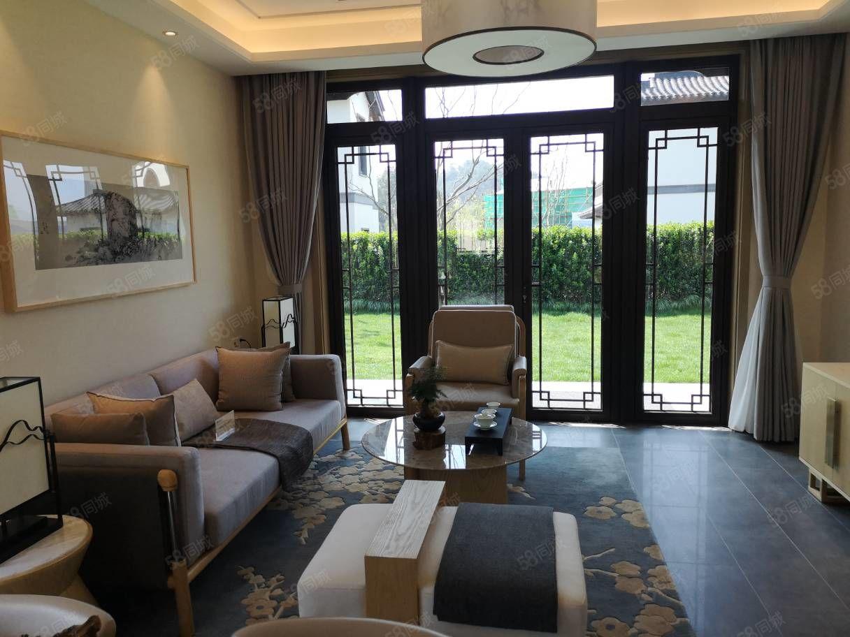 莫干溪谷中式坡地独栋别墅精装修送中央空调送地暖超大花园