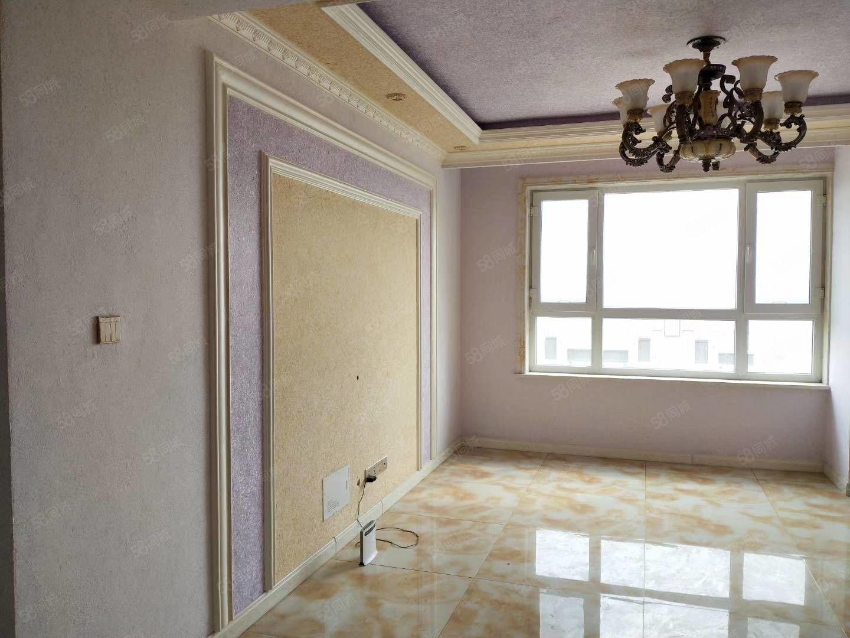 大禹城邦电梯楼新装修未入住婚房标准南北通透两室一厅
