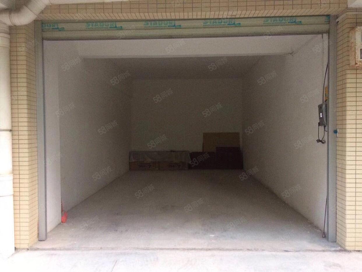 汇景新城超大车库急售已接通水电可做商铺车库门口可另停小车