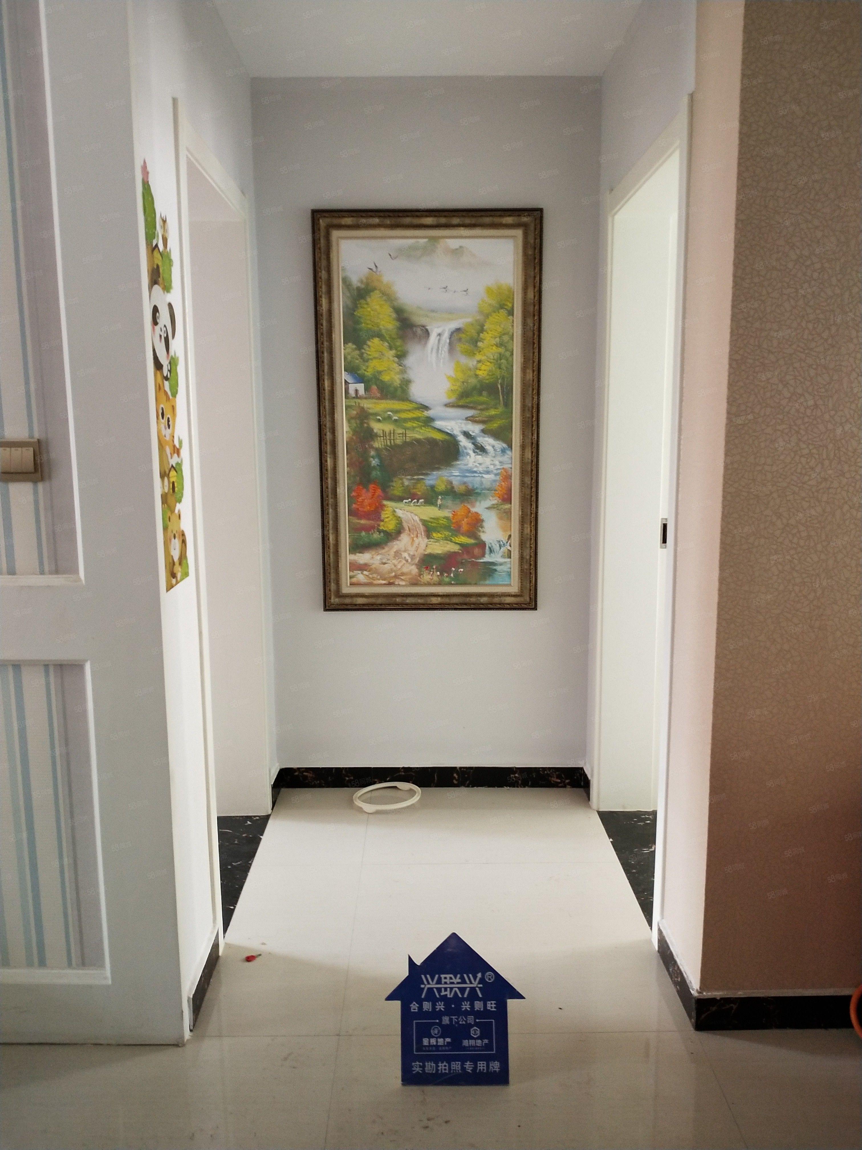 划片一实小可贷款精装拎包入住三室两卫电梯房可贷款