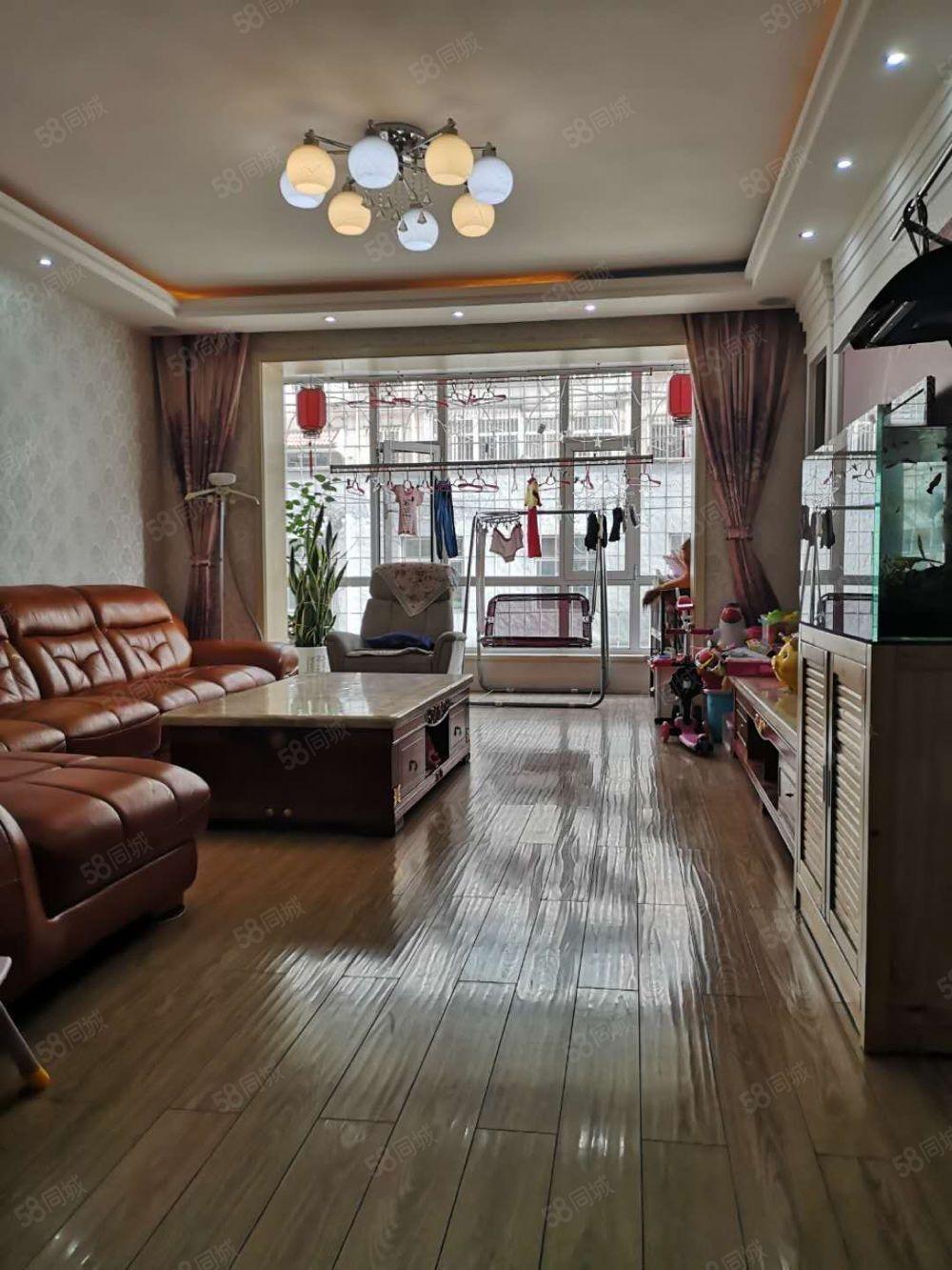 上官苑小區二樓130平米有房本地下室精裝修帶家具可貸款