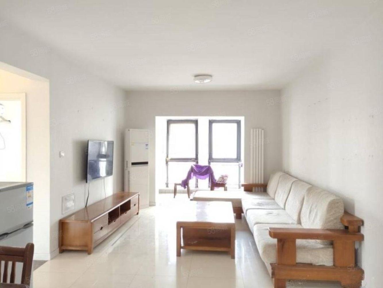 天明城精裝3室出租拎包住家具家電齊全隨時看