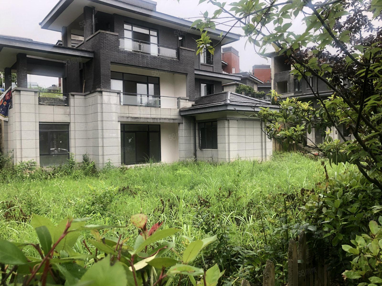 中鐵國際生態城白晶谷合院別墅花園400平產權在手車位入