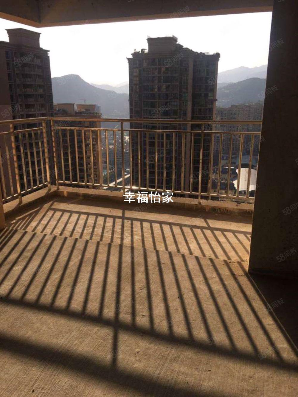 南江印象,超大4房电梯公寓诚意出售,1.8观景阳台