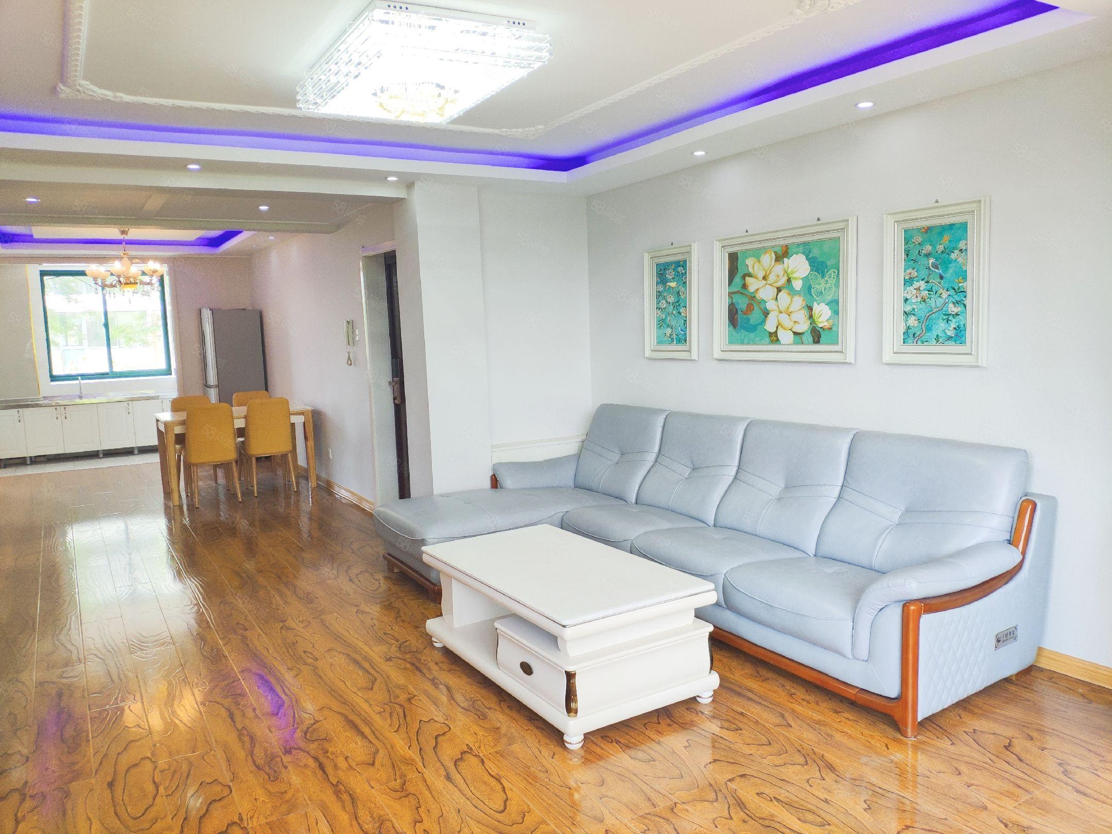 御宮花園1樓113平三居室帶大花園豪裝拎包60.8萬
