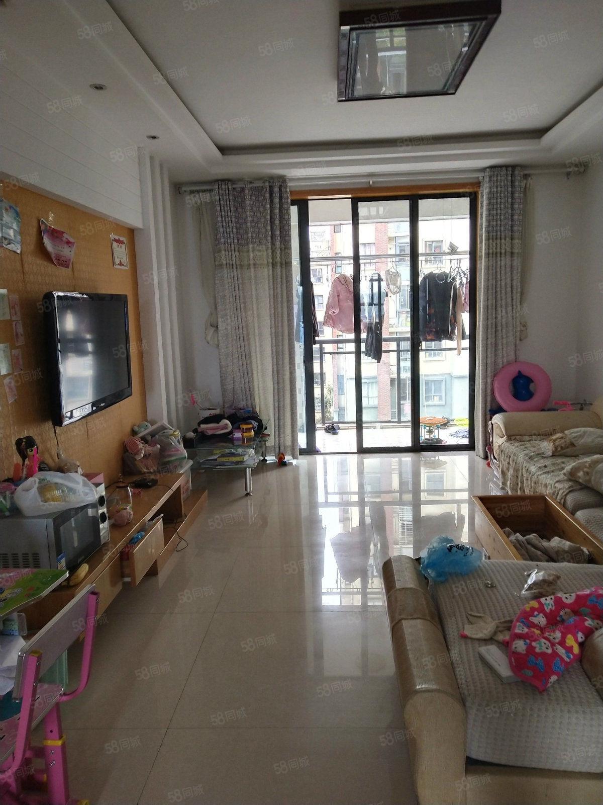 豪宸俪景电梯房中间楼层装修青丝前后双阳台户型正!