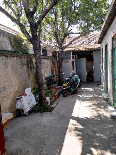 上山街电视台家属院三室两厅简单装修带院子一房满五