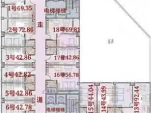 (抵工款)中央公园边户,新房团购价,直接签合同,无过户费