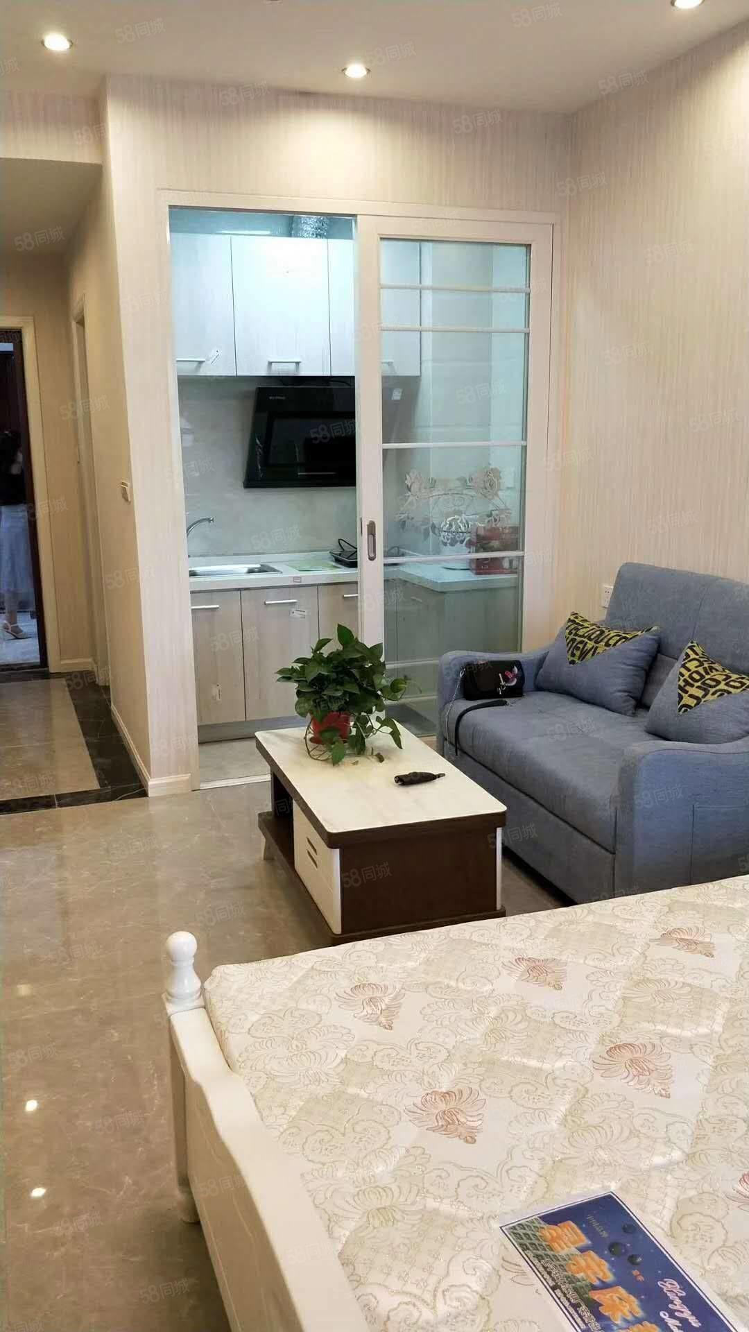盛世國際短租短租公寓,精裝拎包入住,隨時看房入住!