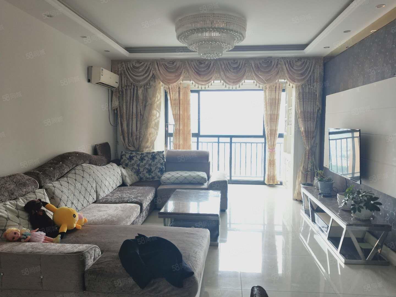 香山湖精装三房,客厅主卧看江视野开阔,满两年