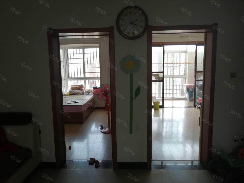 姜堰学区,河畔花城多层6楼,107平加10平储,三室简装