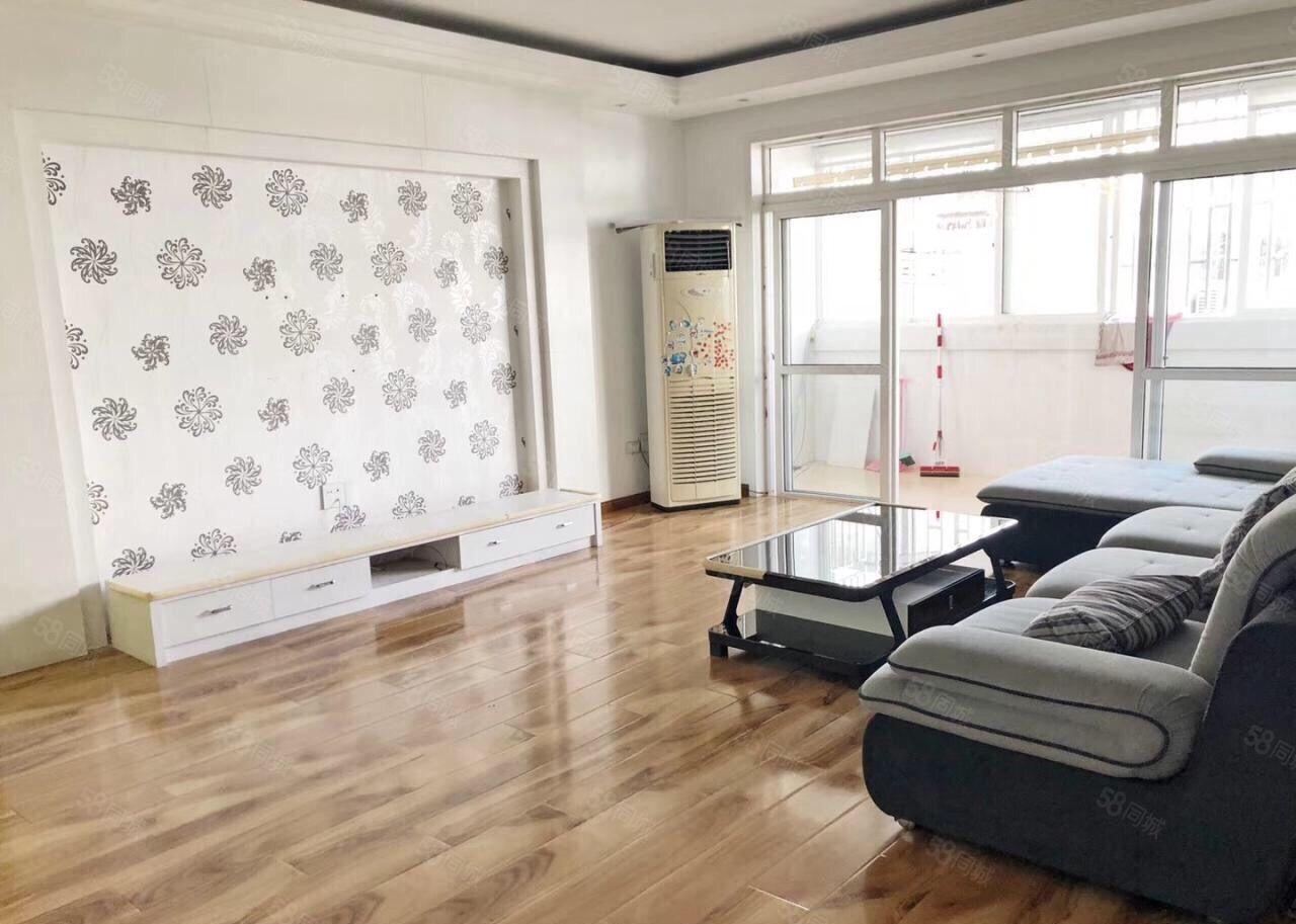 蓝天花苑3楼137平清爽装修拎包入住小区停车方便