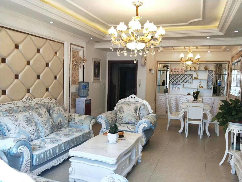 東南片區華陽東方,精裝房3居室帶家電家具出售。