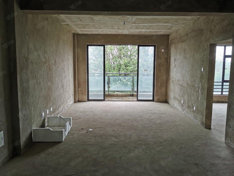 山水间三期花园洋房两房毛坯双阳台赠送超包税