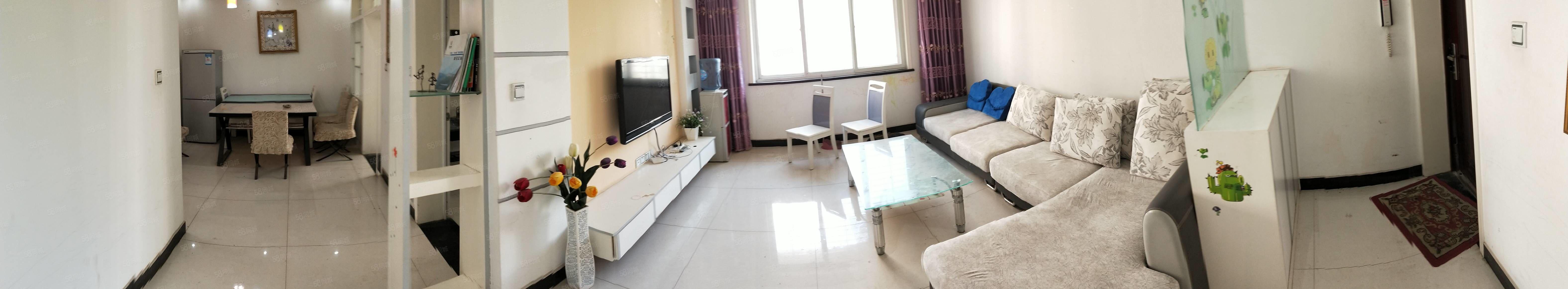桃花岛两室两厅精装修全套家具家电仅售41.8万
