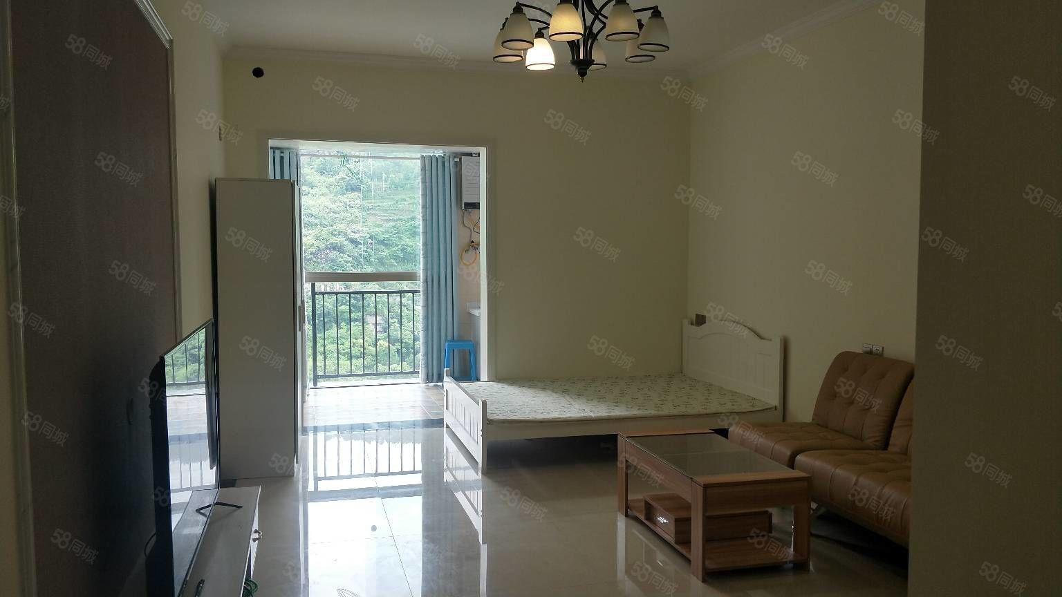 蟠龙首府1室一厅一卫精装修拎包入住