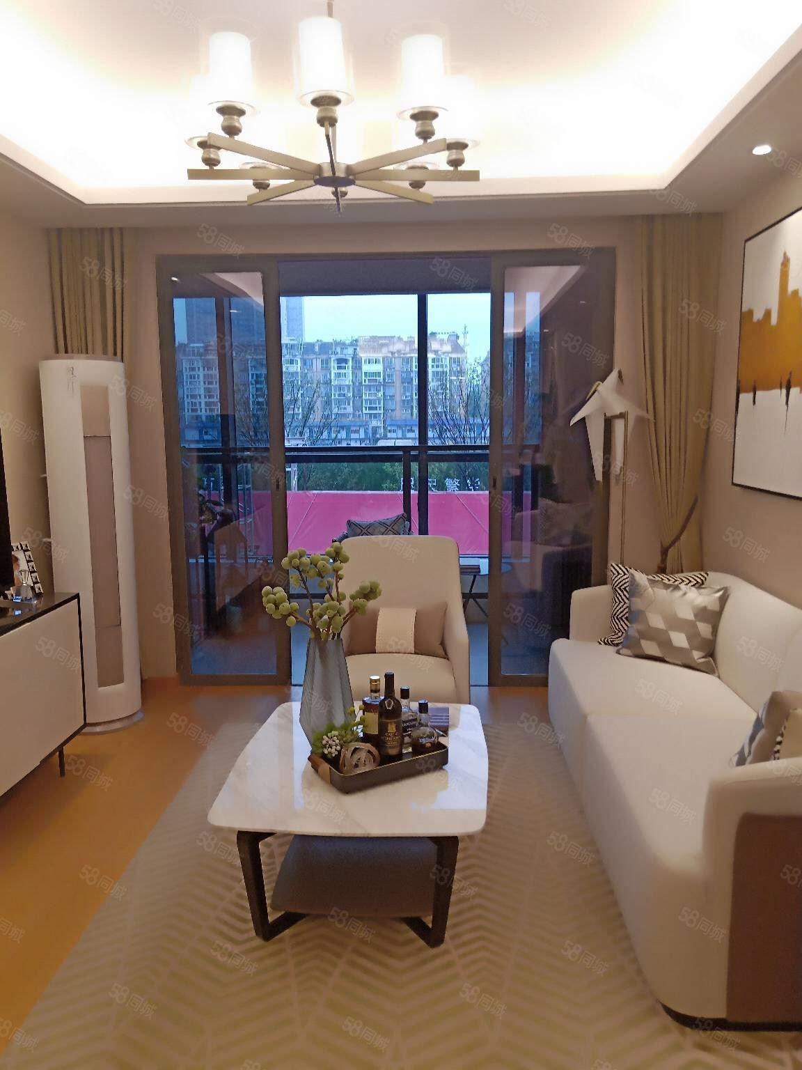 老城區唯一新房合作樓盤,新力弘陽府,夢時代地鐵口旁,精裝交付