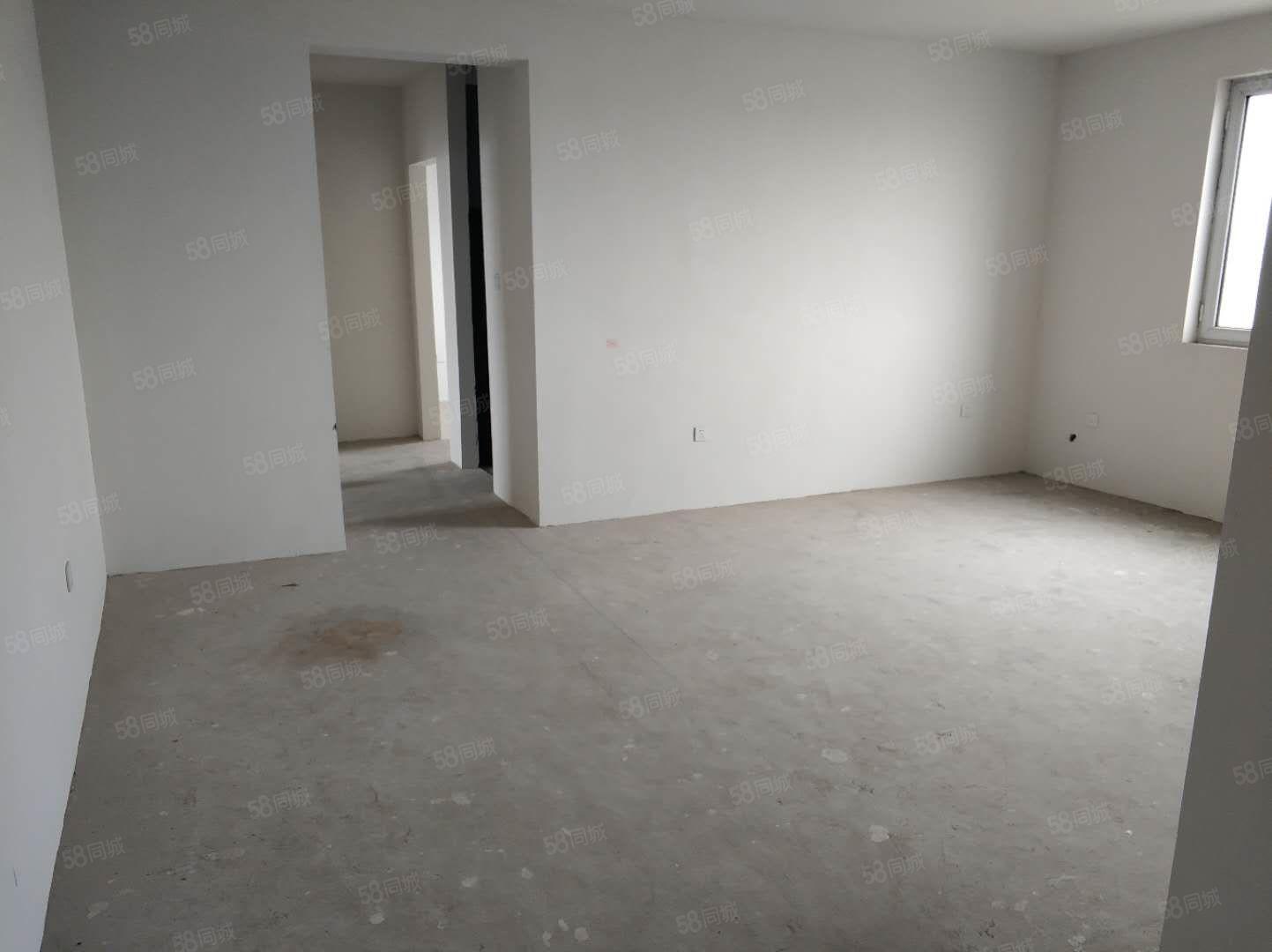 清华园127平毛坯新房带车位包含上房费付50万,下证付尾款