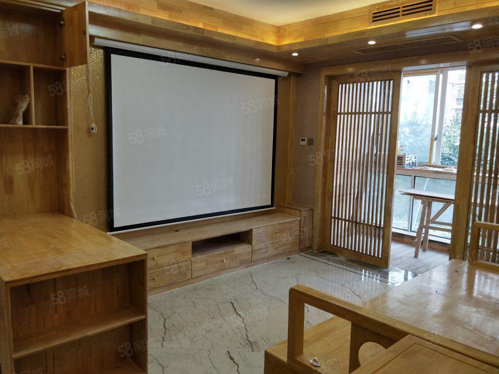 电梯豪华装修婚房出售,中央空调加地暖,全实木家具,品牌家电