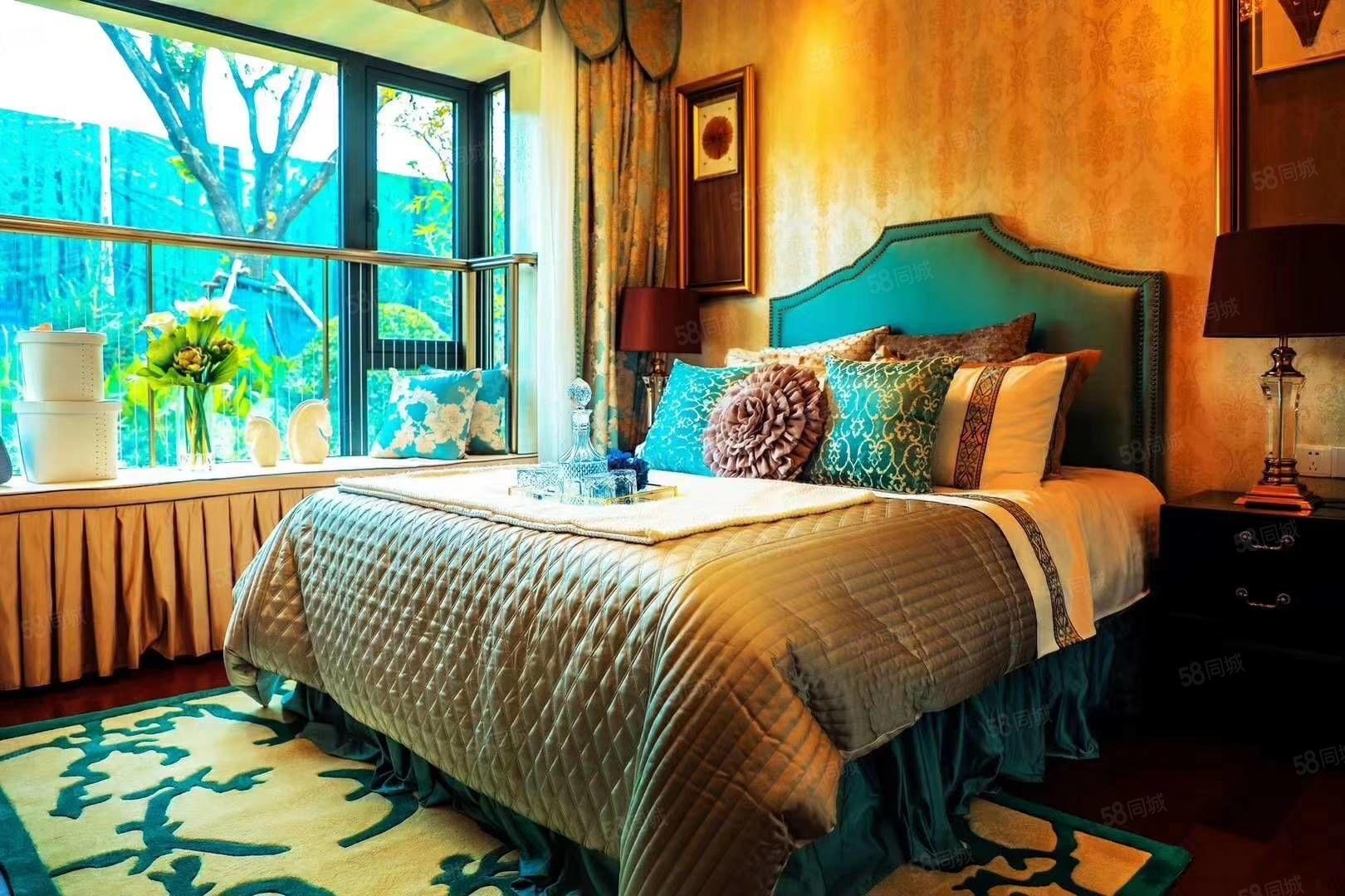 秦汉新城,恒大文化旅游城,精装修湖景住宅三室两厅