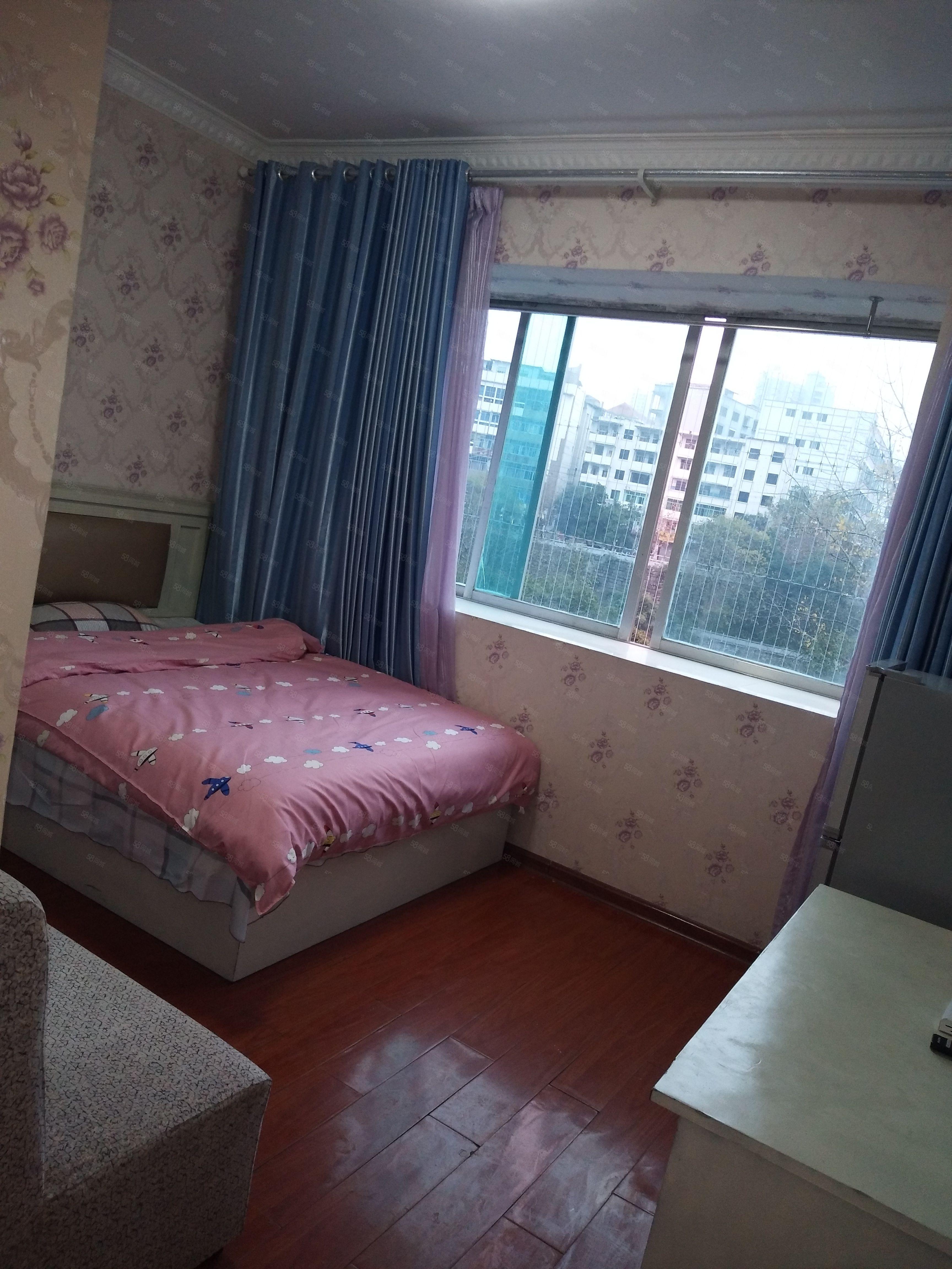 锦江广场石油公司温馨一居室带独立卫生间,基本家电齐全拎包住!