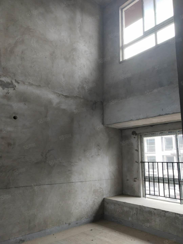 花滩英伦经典跃层洋房双大主卧室户型绝板采光足楼层好