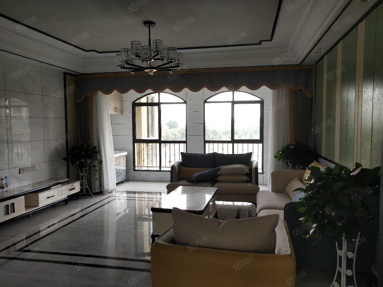 城開東郡花園洋房4房,豪華裝修,贈送面積超大房東誠售,帶學位