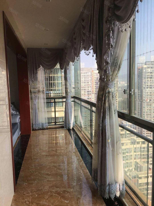 麒龙国际会展城3室2厅精装修家电齐全拎包入住