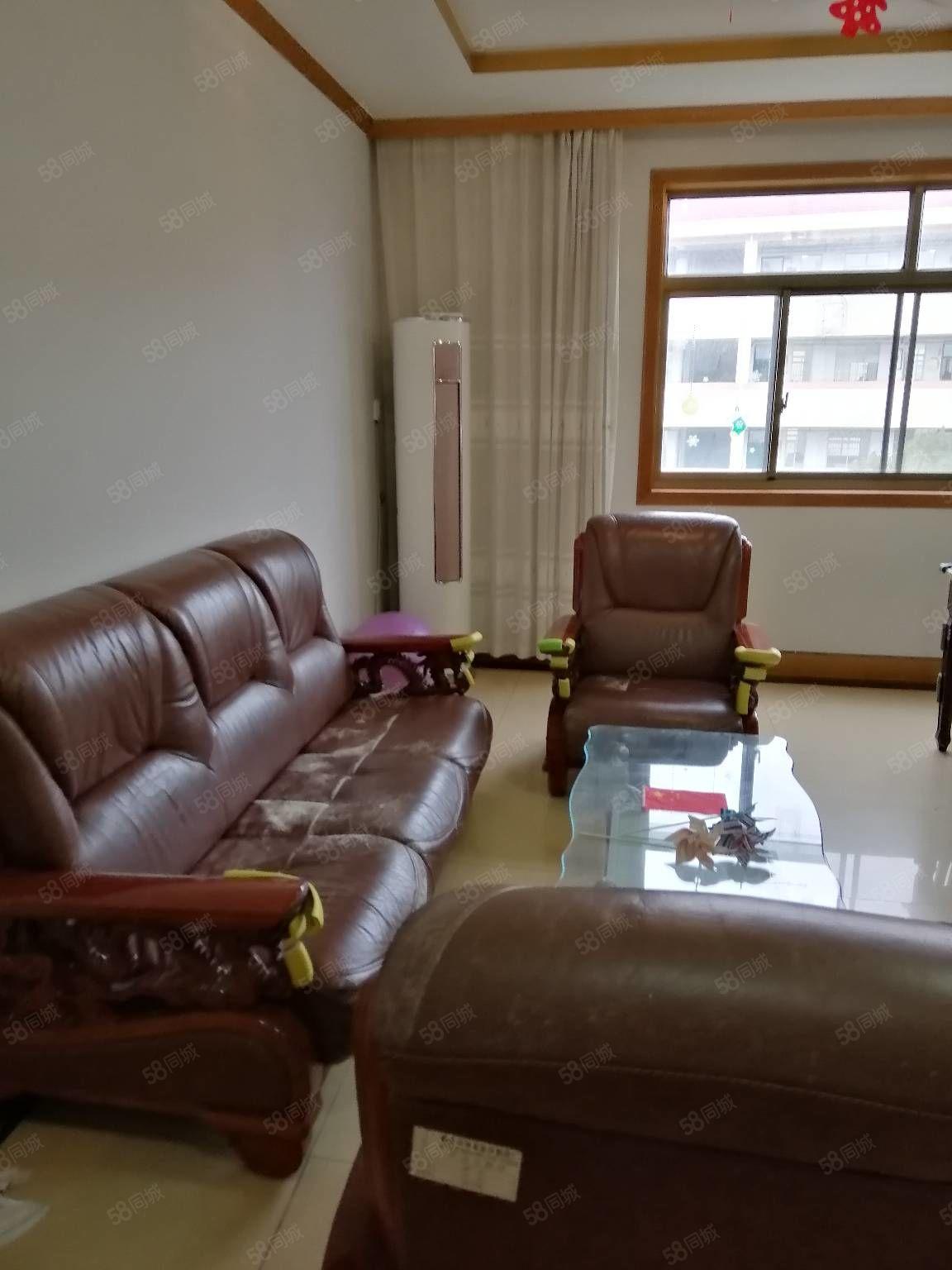 市中心文化新村,3楼,95平米,2室2厅,设施全,1500元