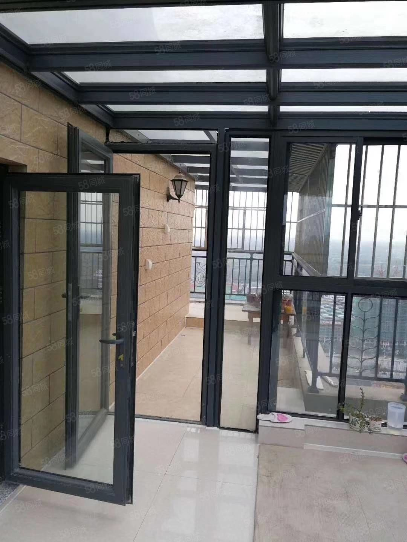 恒大綠洲精裝修送超大陽光房露臺俯視濕地公園大明湖