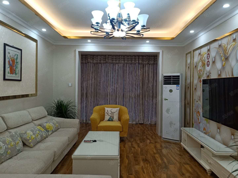 盛世华章精装大2室,家具家电齐全楼层好户型好采光好,可按揭