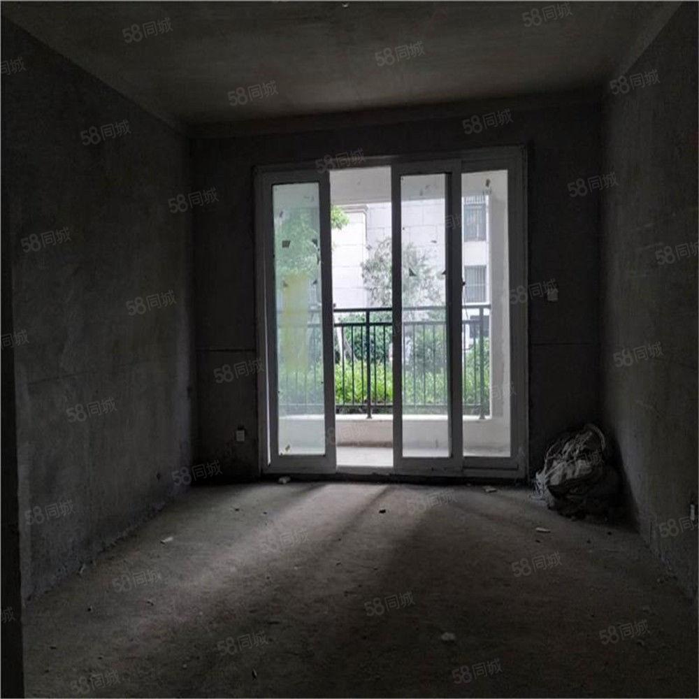 现代城二期一楼带院经典三房南北通透户型优美有证可按揭