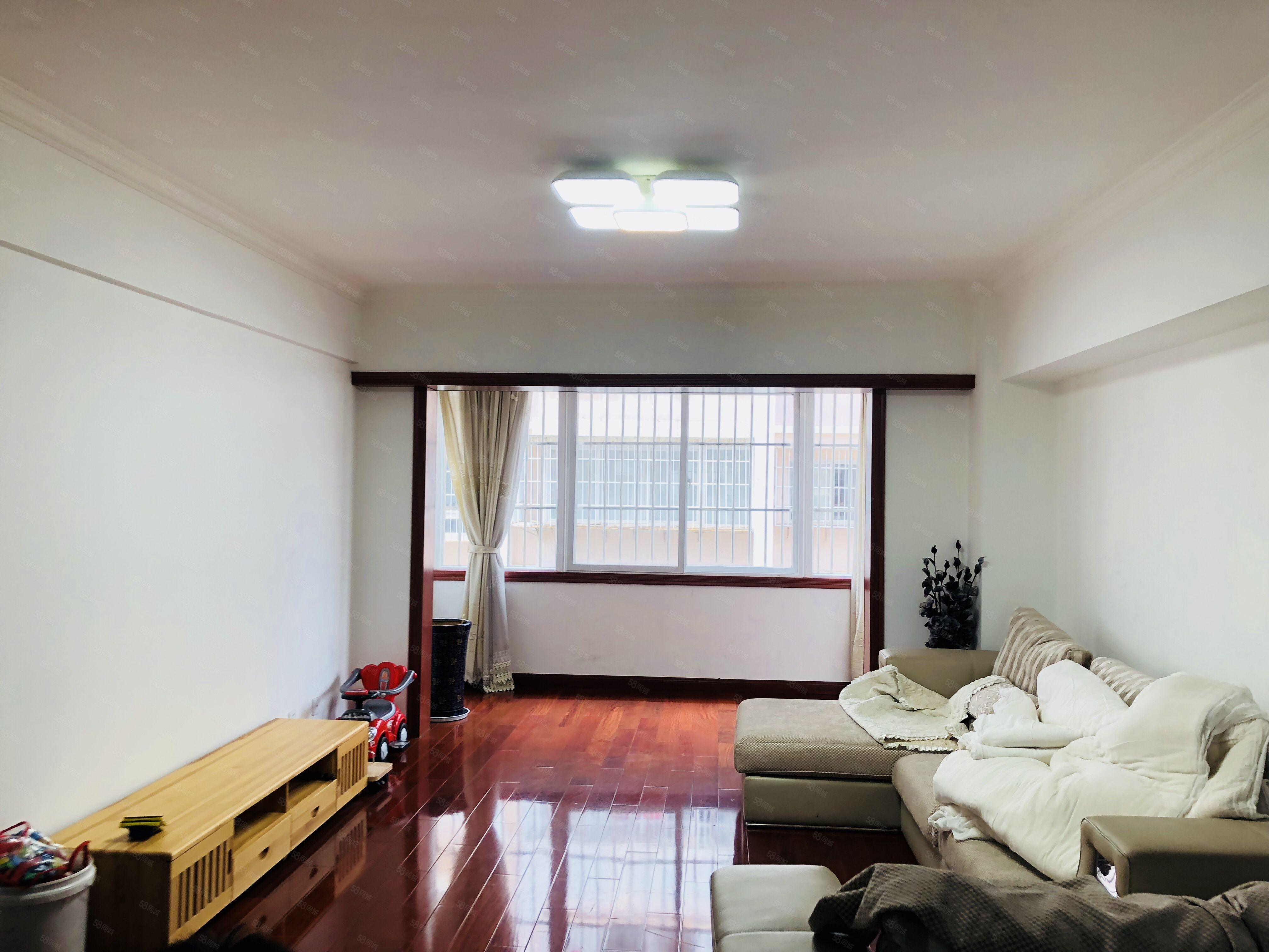 市中心四中四小学区房新装3室带家具拎包入住可做婚房