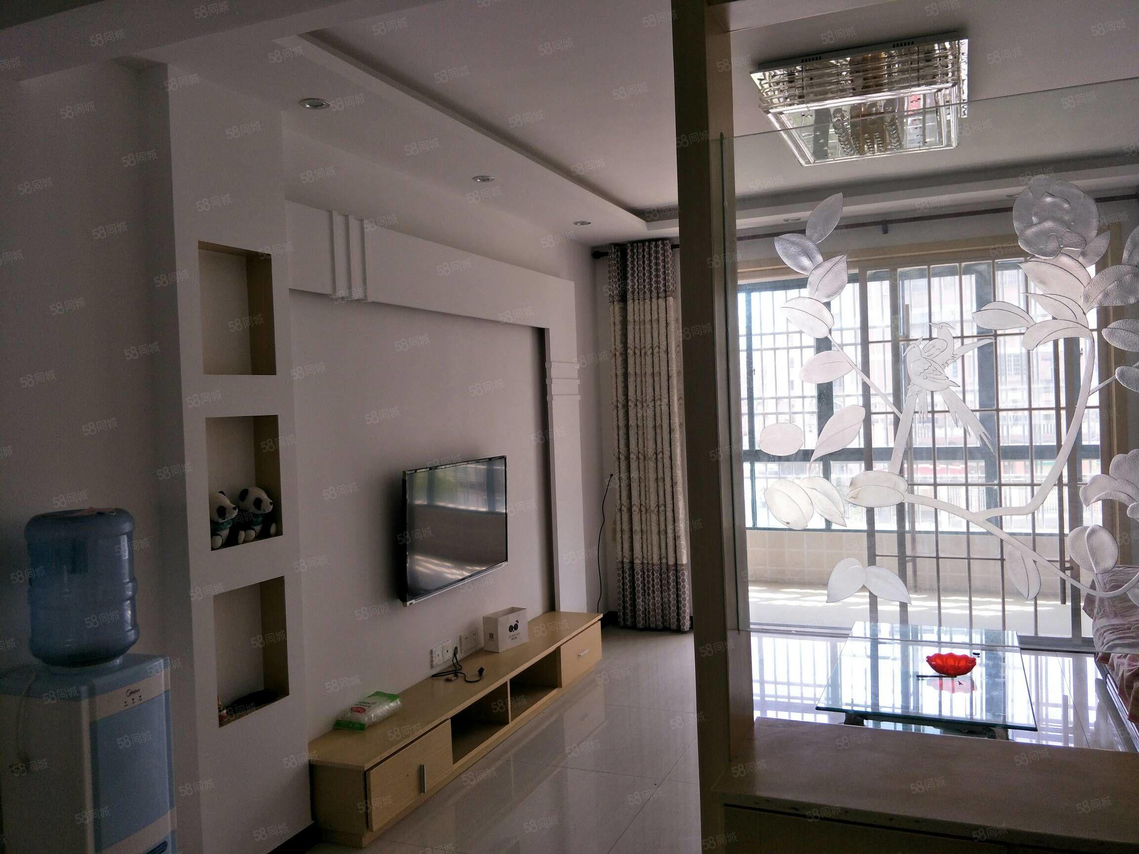 和諧山莊三室兩廳送超大平臺127平米118萬