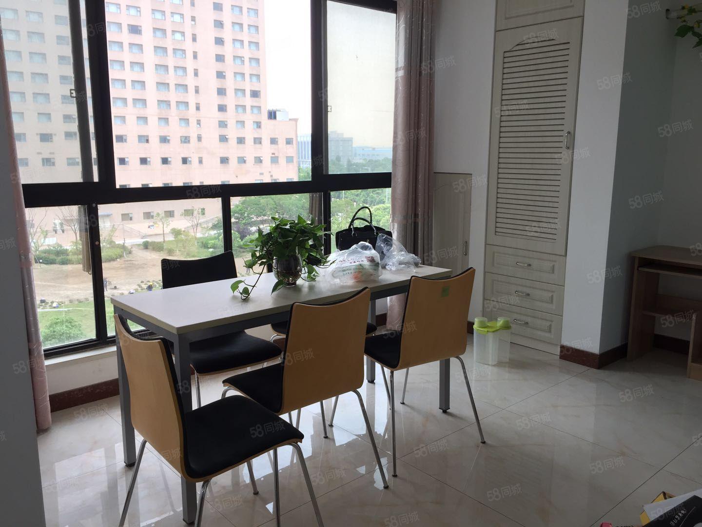 龙豪国际花园电梯房中间楼层二室一厅精装修拎包入住