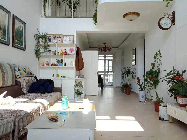 濱河花園精裝五室六樓帶閣樓帶車位緊鄰東城雙語近文昌