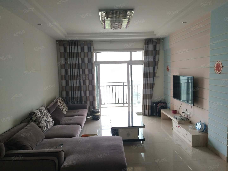 之江名苑电梯房85个平方2房轻松变三房精装家带大阳台