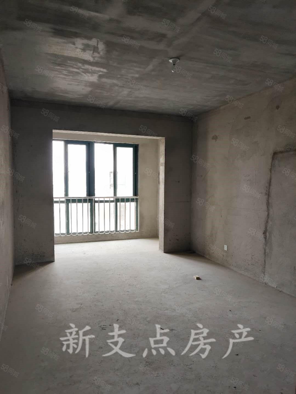 盛世华庭电梯房中层98平三室毛坯现房68.8万可贷款