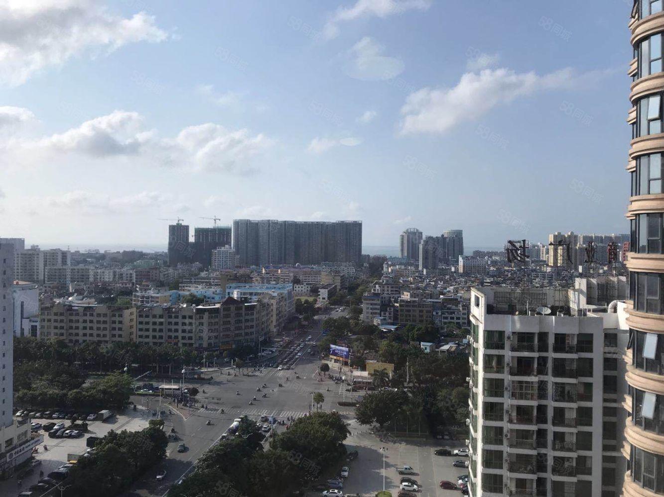 广东路与北海大道交汇大两房拎包入住朝南首付13万