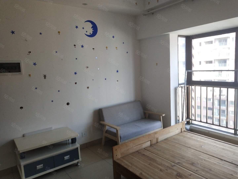 都市经典单身公寓1室1厅1卫简单装修带全套家具部分家电