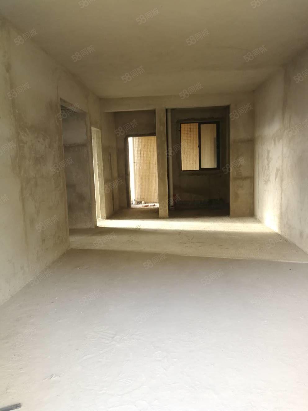 新一小学位安泰华府89平方2房毛胚南向中高楼层