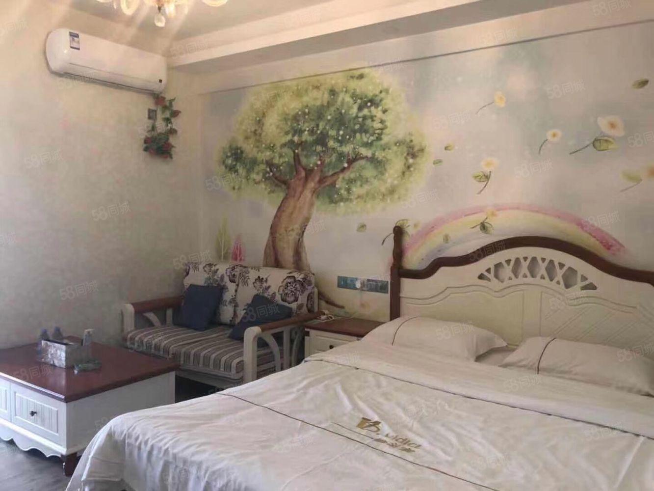万隆城公寓带10年租每月1600元中高朝南
