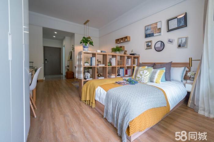 蓝城桃李春风单身公寓精装修拎包入住总价低