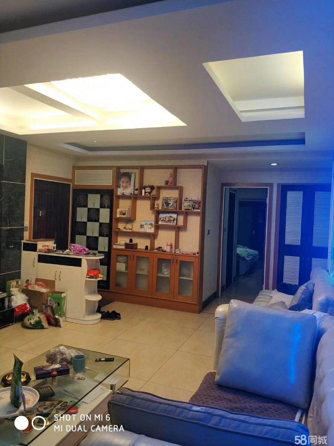 天元广场电梯高层,中等装修,带车库,户型方正,