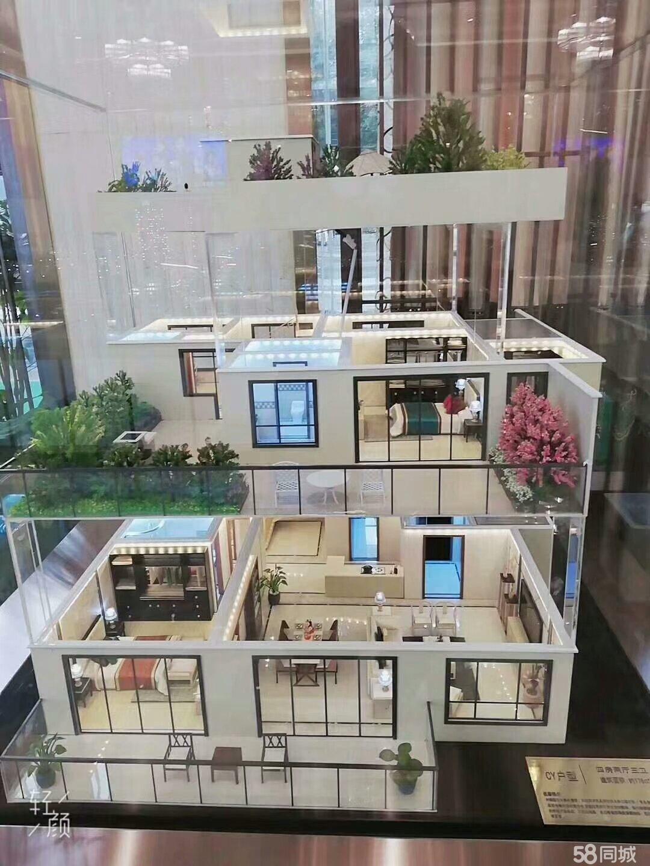 别墅品质花园洋房中空复式楼,送120平方独立大露台南北通透电梯直接入户
